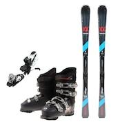 スキー3点セット メンズ 170cm 初心者/中級者にオススメ フォルクル ダルベロ ブラック