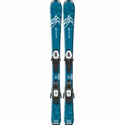 スキー 板 ジュニア セット ビンディング付属 20 QST MAX Jr S+C5GW 20 408913
