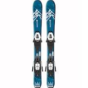 スキー 板 ジュニア セット ビンディング付属 20 QST MAX Jr XS+C5GW 408914