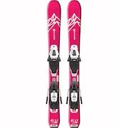 スキー 板 ジュニア セット ビンディング付属 20 QST LUX Jr XS+C5GW 408917
