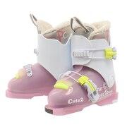 ジュニア スキーブーツ CUTE2 310L10NS1035 PNK