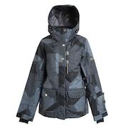 COLLAGE ジャケット 317ON9OY5584 BK スキーウェア レディース