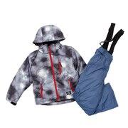 ボーイズ スキーウェアスーツ DF-BS0118SET GRY