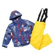 ボーイズ スキーウェアスーツ DF-BS0128SET BLU