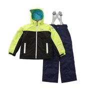 スキーウェア ジュニア キッズ ウィンタースーツ 20-21 RES72003 333699 雪遊び ウェア