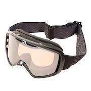 スキー ゴーグル メンズ スノーゴーグル AKSIUM ACCESS 408455 BLACK