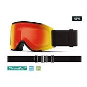 スキー ゴーグル メンズ スノーゴーグル Squad MAG Blackout 10270050
