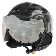 バイザーヘルメットCURAKO 20CPC2032BKB