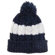 モールポンポン ニット帽 192D5772 NVY