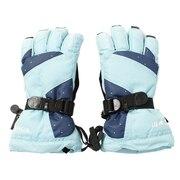 スノーグローブ キッズ 5本指グローブ 17ORJG-GTV-53-AQBIMD 雪遊び 手袋 スノーボード