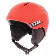 スキー スノーボード ヘルメット ジュニア キッズ スキーヘルメット 335Z0VC1274 RED