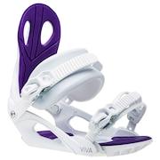 【先行予約商品】 スノーボードビンディング VIVA WHITE S/M 202319210111