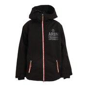 シャークティースバックプリントジャケット ABJ10103 BLACK