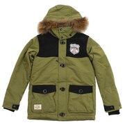 スノーウェア キッズ ジュニア PADDING ジャケット REJ78502 338OLV 雪遊び ウェア