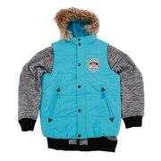スノーウェア キッズ ジュニア スキーウェア ベスト付きジャケット REJ78503 006576 雪遊び ウェア