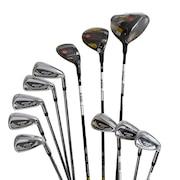 初心者 ゴルフクラブセットKING SPEEDZONE フルセット 11本(1W、5W、4H、5I~9I、PW、SW、GW)TOUR AD for SZ