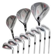 初心者 ゴルフクラブセットT WORLD GS フルセット 11本(1W、5W、4U、5I~11I、SW)オリジナルシャフト