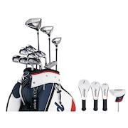 ゴルフクラブセット PACKAGE SET 11本 キャディバッグ付【ウッド・アイアン】カーボン メンズ