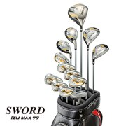 SWORD iZU MAX77 フルセット (DR、FW3、FW5、UT4、UT5、I6~I9、PW、AW、SW、PT) Speeder 588