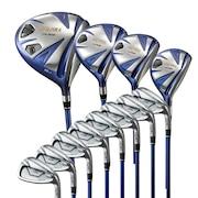 【本間ゴルフ限定】 ホンマゴルフ クラブセット12本 LB808スチール フレックスS (1W(9.75) 3W 5W UT 6I11I AW SW)