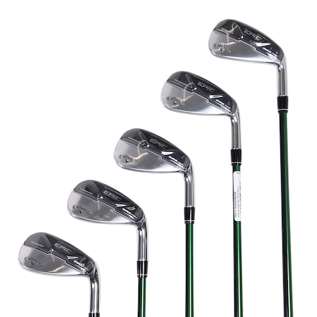 EPIC MAX FAST アイアンセット 5本(7I~9I、PW、AW)Speeder EVOLUTION for Callaway スピーダーエヴォリューション