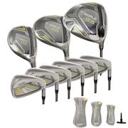 初心者 レディース ゴルフクラブT//WORLD GS フルセット 9本(1W、FW5、UT5、I7~I11、SW)SPEEDTUNED 42