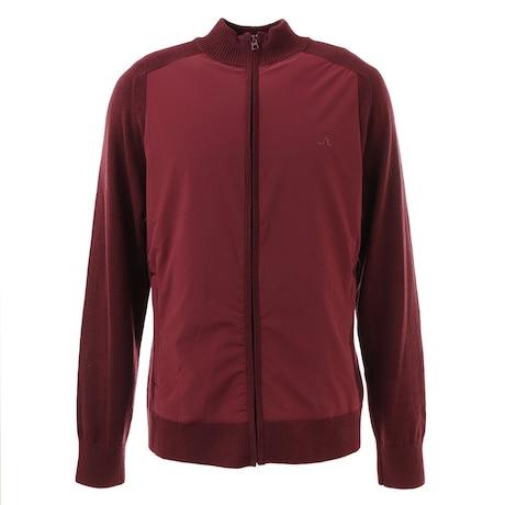 秋冬 ゴルフウェア メンズ Knitted Hybrid ジャケット 071-58010-068