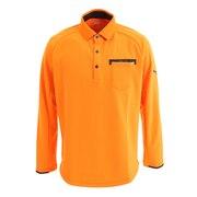 ゴルフ ポロシャツ メンズ ジェネラル ポケット 長袖 ポロシャツ 923904-04
