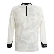 カムフラージュ ハーフジップシャツ THMA091-WHT