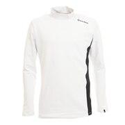 ブラッシュド長袖モックシャツ KW980-V94233