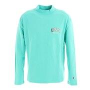 モックネックロングスリーブシャツ C3-UG405 521