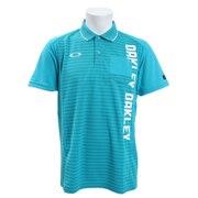 ゴルフ ウエア ポロシャツ Vertical 半袖ポロシャツ 434470JP-6AD