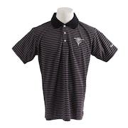 ウェア メンズ ワッフルボーダー 半袖ポロシャツ 19STRZ08-BK オンライン価格