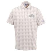 ゴルフ ポロシャツ ジャガードポロシャツ CL5HTG02 WHT