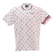 ロゴプリント ポロシャツ CL5HTG05 WHT