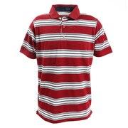 ゴルフウエア メンズ バスクボーダーポロシャツ 151-22340-064
