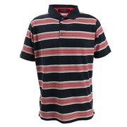 ゴルフウエア メンズ バスクボーダーポロシャツ 151-22340-098