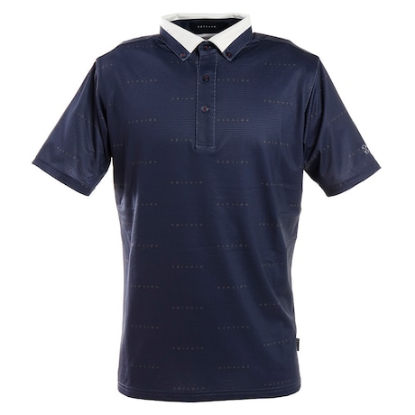 ゴルフウエア メンズ エンボス柄ポロシャツ 151-22342-098