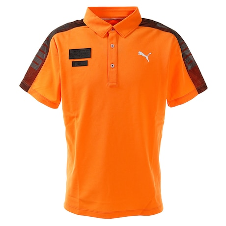 ポロシャツ メンズ ゴルフ ケージド SS ポロシャツ 半袖 930012-02