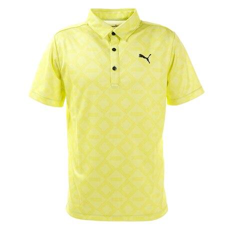 ゴルフ ポロシャツ メンズ ゴルフ モノグラム SS ポロシャツ 半袖 930015-03