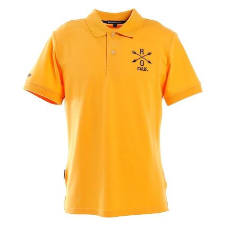 ポロシャツ メンズ ベアカノコシャツ 半袖 044-22241-035