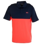 ゴルフ ポロシャツ メンズ パフォーマンス ポロシャツ 2.0 カラーブロック 1355485 ADY/BEA GO