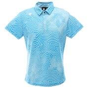 ゴルフ ポロシャツ メンズ クーリストドライキューブ半袖シャツ DGMPJA23-SA00