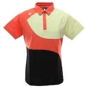 ゴルフ ポロシャツ メンズ クーリスト切り替え半袖シャツ DGMPJA45-OR00