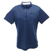 スムースメッシュプリントシャツ RGMPJA15-NV00