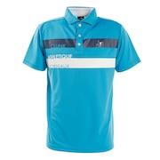 ショルダーラインポロシャツ CL5HTG09 BLU