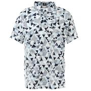 幾何学柄プリント半袖シャツ 3GT05ASA