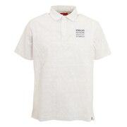 シアサッカー×メッシュ 半袖カラーシャツ 012-1168001-030