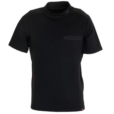 ゴルフ ネック メンズ ショートスリーブ モックネック プルオーバーシャツ 012-0166001-010