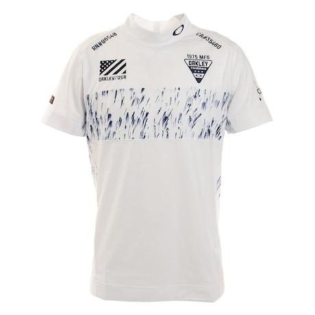 AFFECTED 半袖モックネックシャツ FOA402832-100